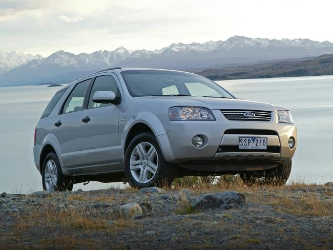 Still popular ... sales of the Ford Territory are down, but it's better than what Ford was expecting.
