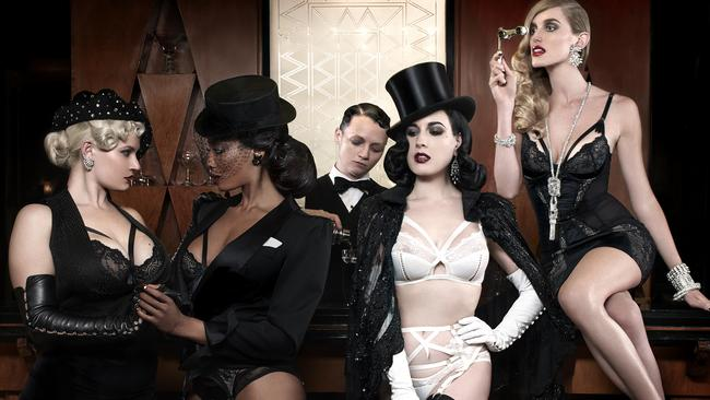 fcd18f865ca Dita Von Teese seems to be stripping the burlesque out of her life in  favour of lingerie