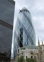 <p>The Gherkin building in London, UK / Flickr user Jim Linwood</p>