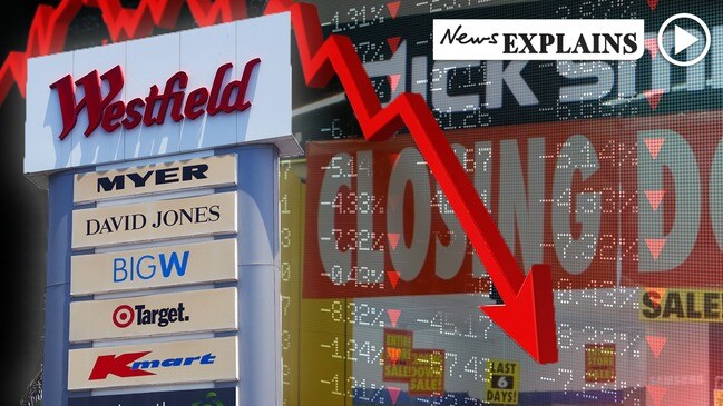 Shoppers are turning their backs on Aussie retailers