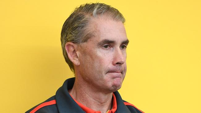 Gold Coast Suns Football Operations Manager Marcus Ashcroft has left the club. (AAP Image/Dave Hunt)