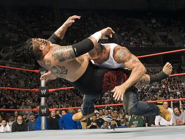 Batista in full flight.