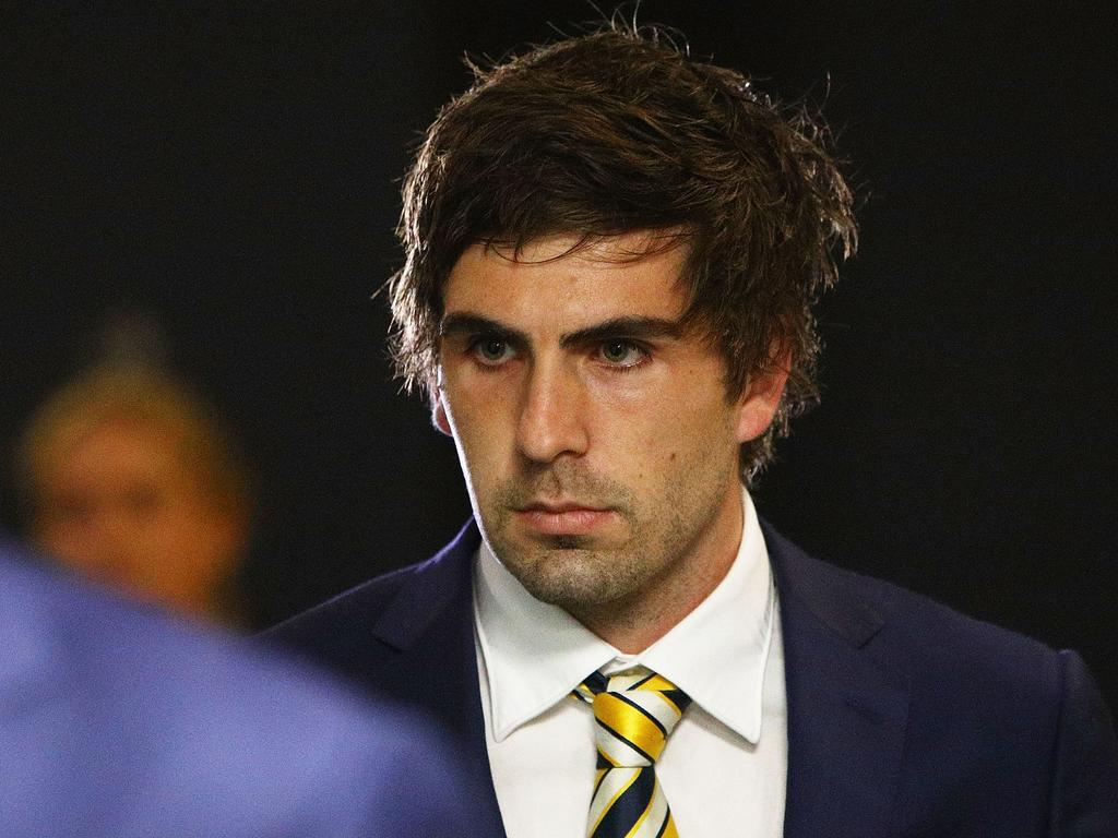Andrew Gaff has been slapped with a monster ban.