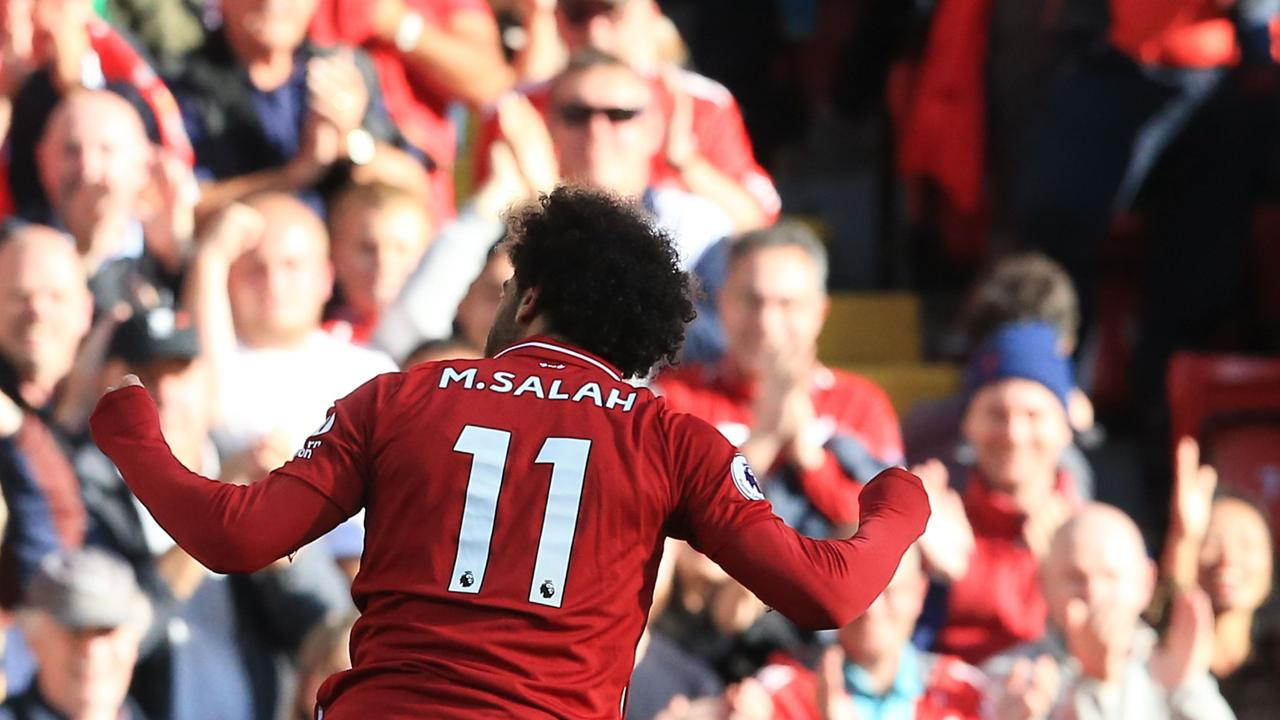 Mohamed Salah and the Liverpool front three have picked up where they left off last season