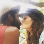 Nicole Trunfio and hubby Gary Clarke Jnr so cute and loved up! Picture: Nicole Trunfio / Instagram