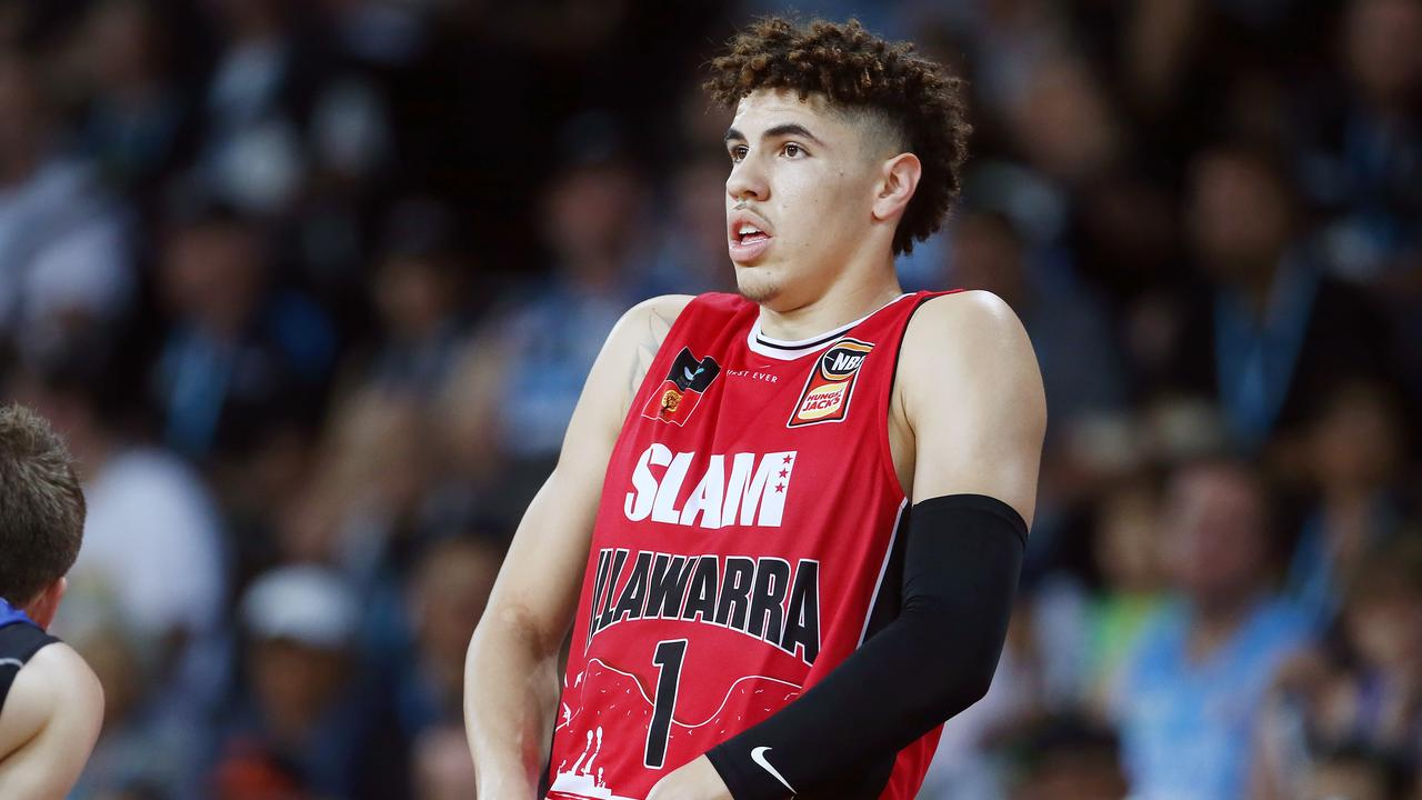 LaMelo Ball is a potential No. 1 draft pick. (Photo by Anthony Au-Yeung/Getty Images)
