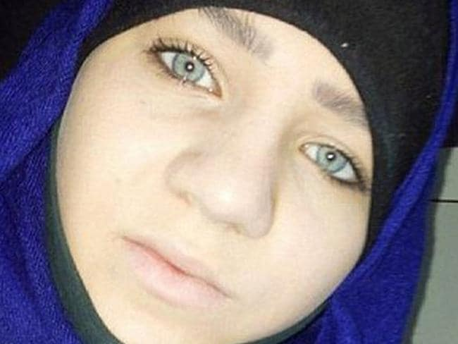 Sabina reportedly lived a comfortable life in the west before moving to Syria.