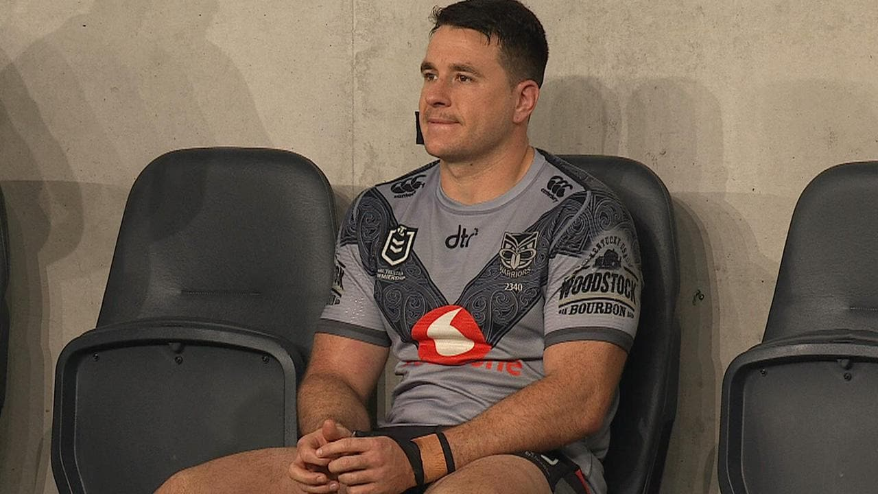Lachlan Burr sits out for the Warriors