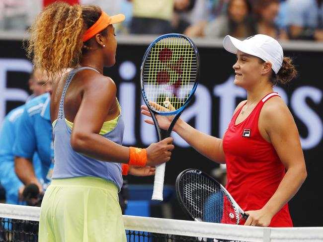 Barty and Osaka have played each other before four times, including at the 2018 Australian Open.