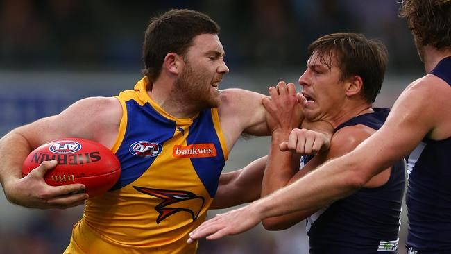Eagle Jeremy McGovern is one of the best key defenders in the AFL.
