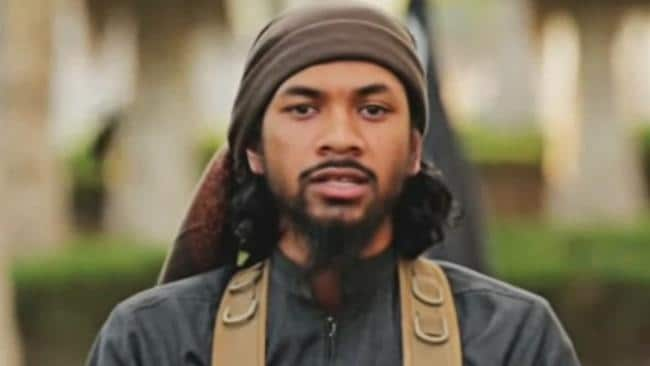 Australian-born Islamic State terrorist Neil Prakash was stripped of his citizenship in December but there's now a spat of which country he belongs to. Picture: AAP