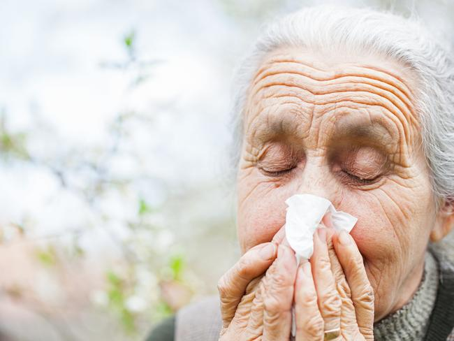 Elderly are among the most at risk of flu and are urged to get vaccinated against it.