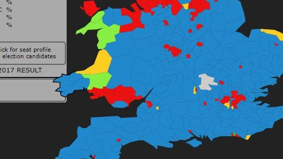 Map Of Uk General Election Results.British Election 2019 Theresa May Pushed To Call Uk Election Over