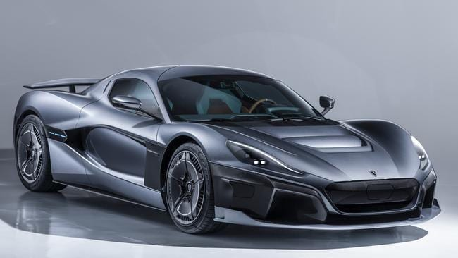 The Rimac C_Two is an EV that offers blistering performance. Pic: Supplied.