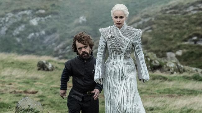 Tyrion has served Queen Daenarys since defecting from the Lannister camp. Picture: FOXTEL