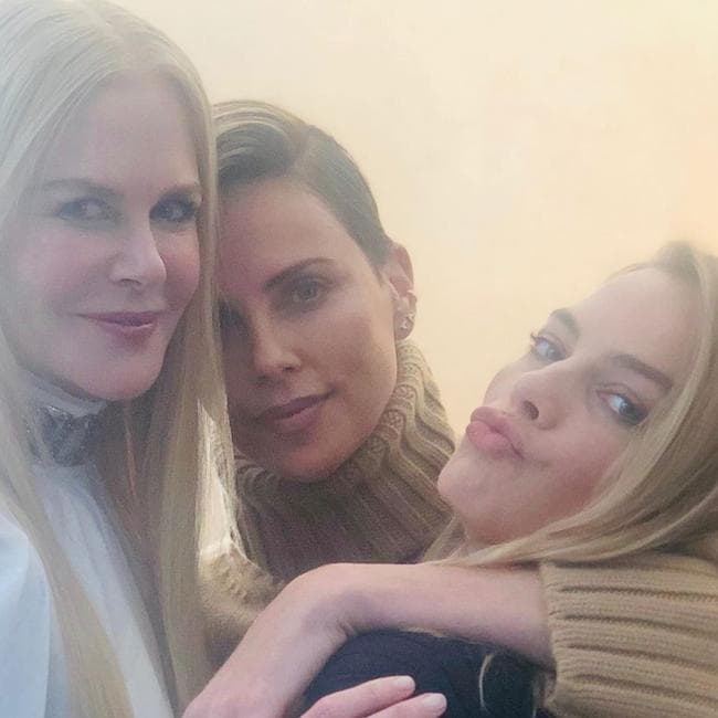 Kidman, Theron and Robbie.