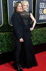 Musician Keith Urban and actor Nicole Kidman attend The 75th Annual Golden Globe Awards at The Beverly Hilton Hotel on January 7, 2018 in Beverly Hills, California. Picture: Frazer Harrison/Getty Images