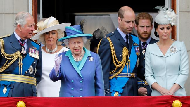 The Queen reportedly asked Harry not to announce his plans until they were better formed. Picture: AFP/Tolga Akmen