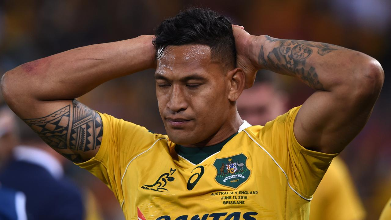 Wallabies star Israel Folau is fighting for his career.