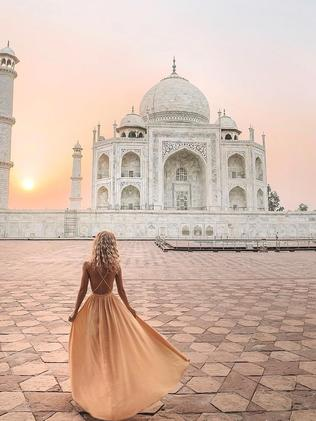Instagrammer's reality of the Taj Mahal in India