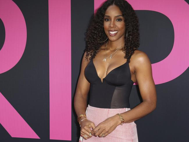 Kelly Rowland will return to Australia this year, this time to perform not judge. Picture: AP