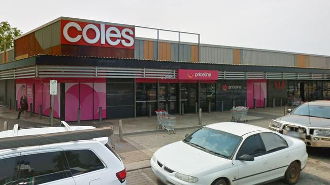 Coles' Karratha store has seen some shelves stripped as Cyclone Damien approaches. Picture: Google Maps.