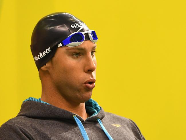 Grant Hackett hit out at the comparison to Sun Yang.