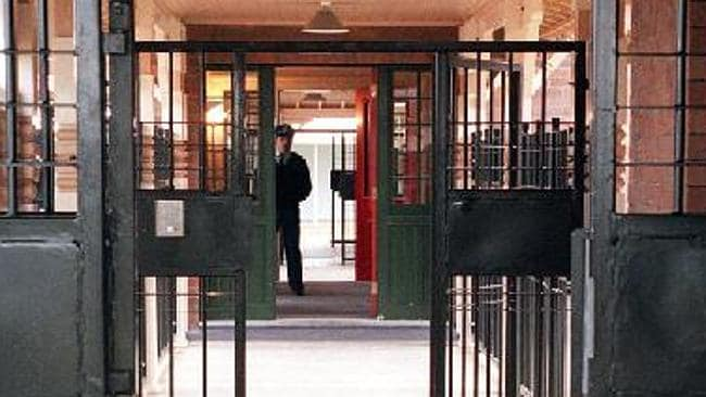 side Silverwater prison, where Simon Gittany is spending his first Christmas behind bars. Picture: News Limited.