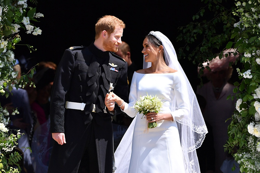 Prince Harry and Meghan Markle's wedding May 19, 2018 at St. George's Chapel, Windsor. Image credit: Getty Images.