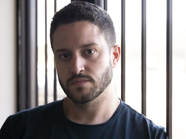 Cody Wilson poses for a portrait in the Defence Distributed office in Austin, Texas. Picture: AP