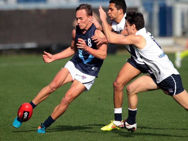 Ryan Clarke has a sensational year in the TAC Cup. Picture: Glenn Ferguson.