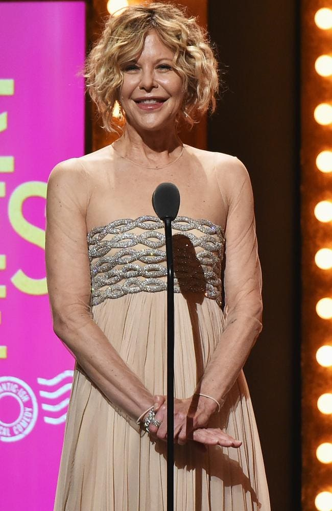 Meg Ryan looks a little different at the 70th Annual Tony Awards in 2016.