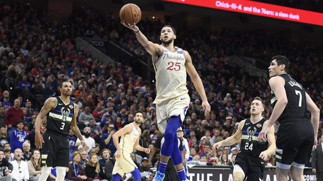 Simmons helped the Sixers stun the Bucks back on Christmas Day. (Photo by Sarah Stier/Getty Images)