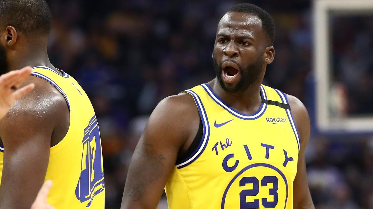 Draymond Green doesn't get on with Charles Barkley. Ezra Shaw/Getty Images/AFP