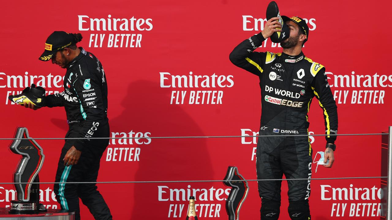 Daniel Ricciardo has claimed podiums in two of his last three races. (Photo by Joe Portlock/Getty Images)