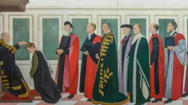 The Rothenstein Mural. Picture: Supplied