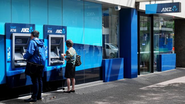 ANZ customers on Centrelink were given informal overdrafts and then charged up to $60 a month in fees when their balance dipped below zero. Picture: Brendan Esposito/AAP