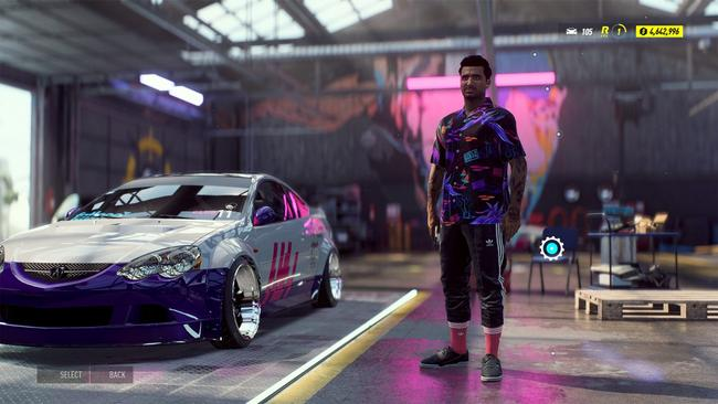 Need For Speed Heat has 12 characters to choose from, but it's really about the cars.