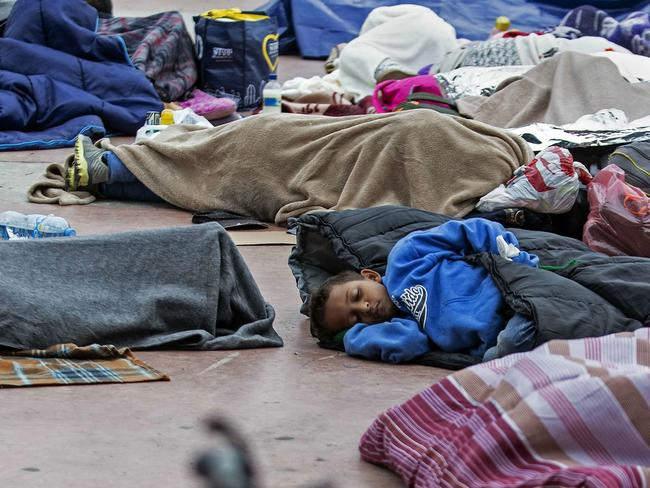 Almost 1500 migrant children from Central America have vanished after the US government placed them in foster care. Picture: AFP Photo/Guillermo Arias