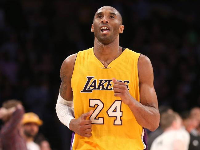 Kobe Bryant #24 of the Los Angeles Lakers.