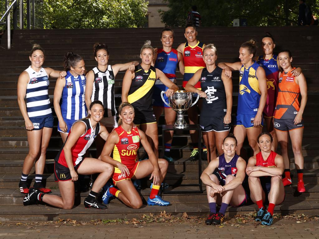 2020 AFLW Season Launch