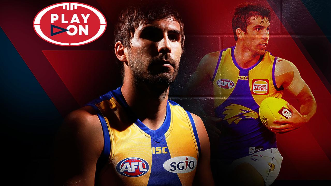 West Coast midfielder — and free agent — Andrew Gaff.