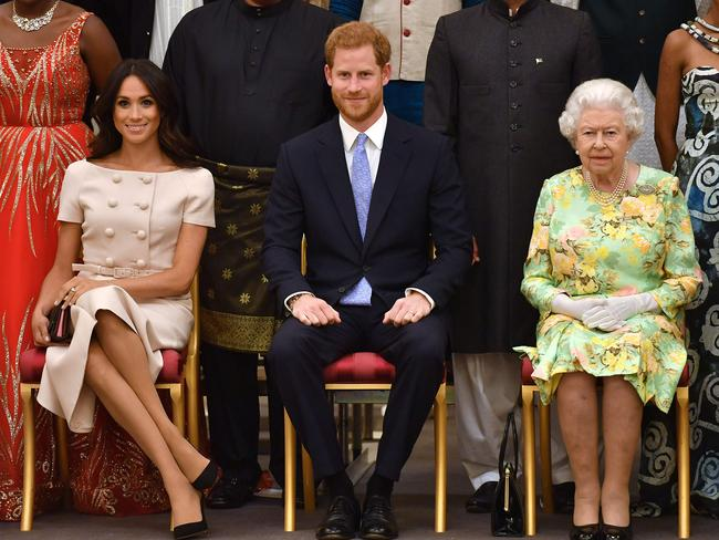Harry and Meghan will complete their final royal engagements in the coming days. Picture: John Stillwell/AFP
