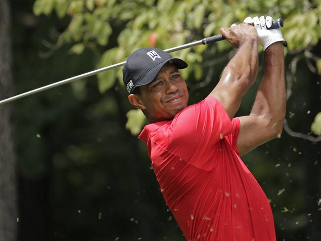 Woods is still recovering.