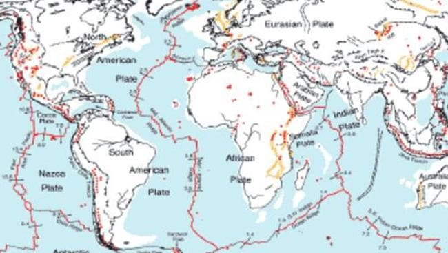 Tectonic plates: Map fills 500m year gap in Earth\'s history ...