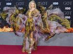 """British actress Gwendoline Christie arrives for the """"Game of Thrones"""" eighth and final season premiere at Radio City Music Hall on April 3, 2019 in New York city. (Photo by Angela Weiss / AFP)"""
