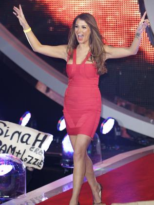 Natasha Giggs appeared on Celebrity Big Brother in 2012. (Photo by Nat Jag/Getty Images)