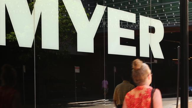 Customers are walking away from Myer. Brendon Thorne/Bloomberg