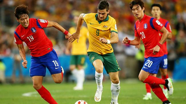 Tomi Juric's energy and strength was key the Socceroos' winning goal.