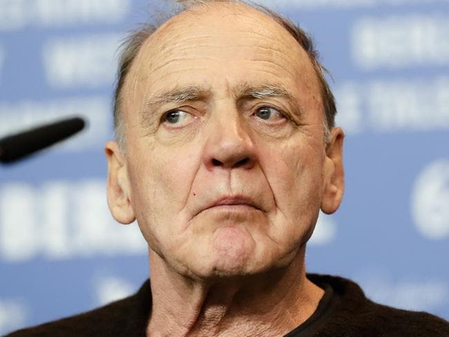 Actor Bruno Ganz attends a press conference for the film 'The Party' at the 2017 Berlinale Film Festival in Berlin, Germany. Picture: AP